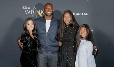 IGN Kobe Bryant and family