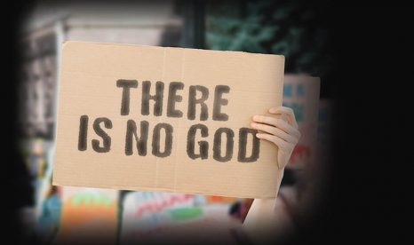 What do young adults believe about the existence of God?
